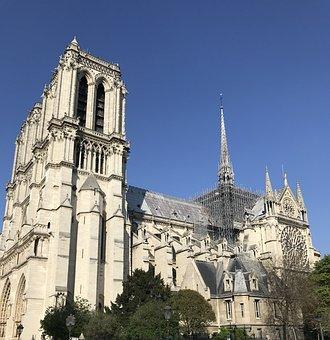 Notre Dame, Notre Dam, Cathedral, Paris, Church, France