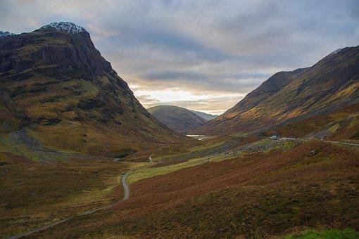 Glencoe, Scotland, Highlands And Islands, Highlands