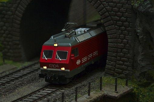 Model Railway, Locomotive, Loco, Toys, Model