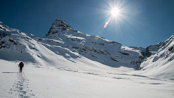 Mountains, Alps, Mountaineering, Cold, Man, Lost, Only