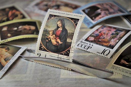 Madonna, Stamp, Symbol, Maria, Album, Email, Cccp