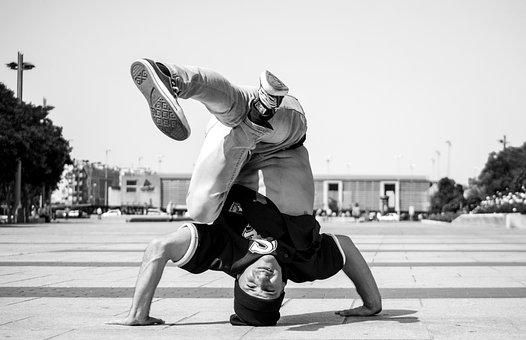 Guy, Dance, Acrobatics, Movement, Dancers, Model, Music