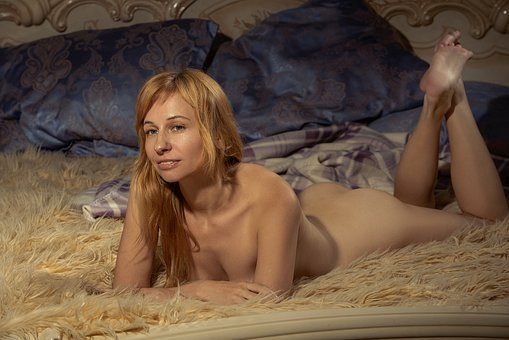 Nude, On The Bed, Naked, Girl, Body, Skin