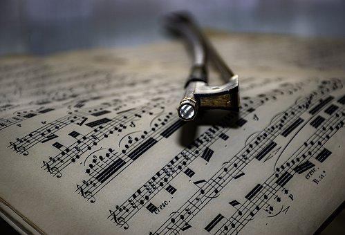 Bow, Timeless, Music Sheet, Cello Bow, Old Friend