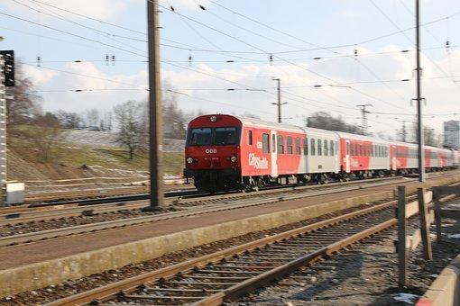 Railway, Rails, Gleise, Rail Traffic, Traffic