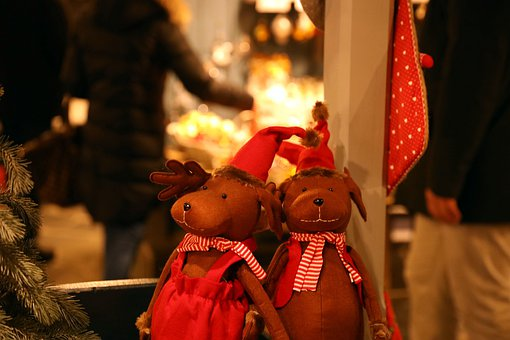 Reindeer, Decoration, Christmas, Xmas, Celebration