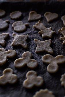 Cookies, Bake, Butter Biscuits, Shortcrust Pastry