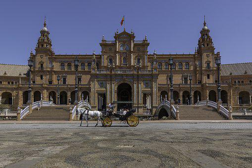City, Seville, Spain, Architecture, Andalusia, Palace