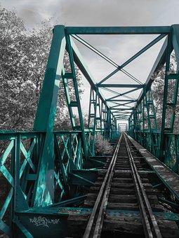 Train, Monochrome, Railway, Transport, Steam, Nostalgic