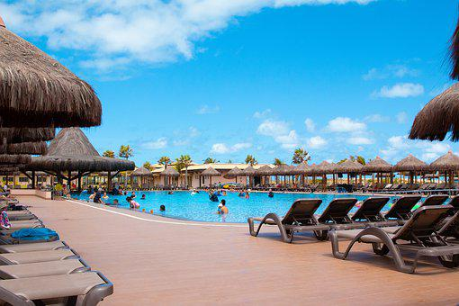 Pool, Beach, Holidays, Summer, Water, Hotel, Mar