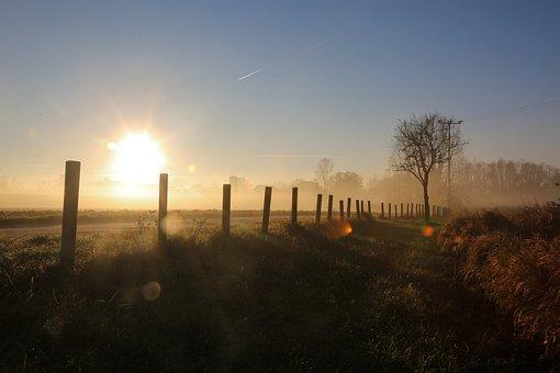 Morning, Twilight, Landscape, Sunrise, Sky, Beautiful