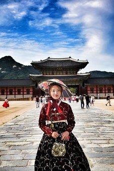 Seoul, Korea, Temple, Culture, Landscape, Buddhism