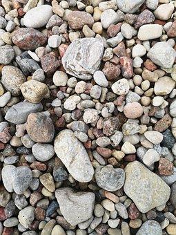 Little, Rocks, Small, Shape, Stone, Background, Texture