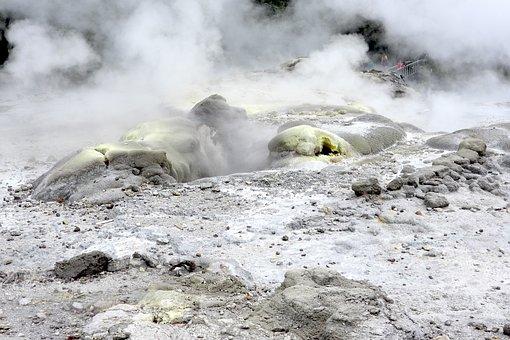 Volcanic, Steam, Sulfur