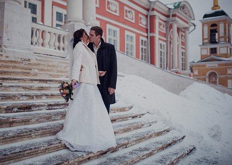 Wedding, Bride, The Groom, Couple, Marriage, Love
