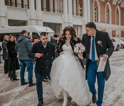 Wedding, Bride, The Groom, Marriage, Love, Couple