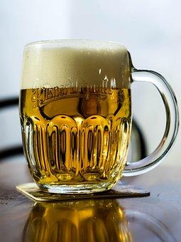 Beer, Alcohol, Czech Republic, Pilsner Urquell, Foam