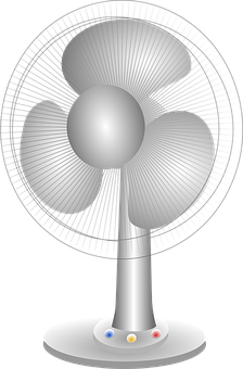 Fan, Appliance, Air, Electric, Domestic, Cooling