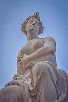 Statue, Sculpture, Art, Face, Figure, Woman, Artwork