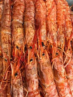 Seafood, Shrimp, Gourmet, Restaurant, Prawn, Asian