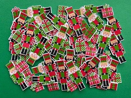 Christmas, Holiday, Background, Nutcracker, Xmas