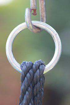 Ring, Carbine, Rope, Climb, Backup, The Rope, Rope Up