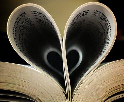 Heart, Book, Bible, God's Love, Devotions, Devotional