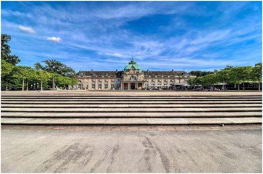Park, Oyenhausen, Building, Architecture, City