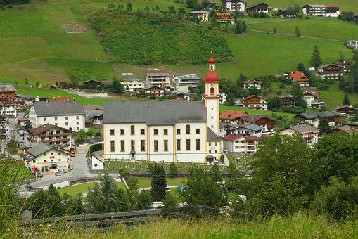 Church, Neustift, Austria, Heiliger Georg, Religion