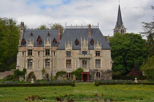 France, Castle, Normandie, Cleres
