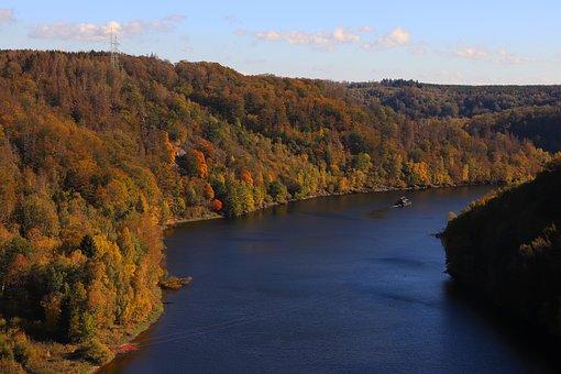 Resin, Dam Turning Furth, Reservoir, Lake