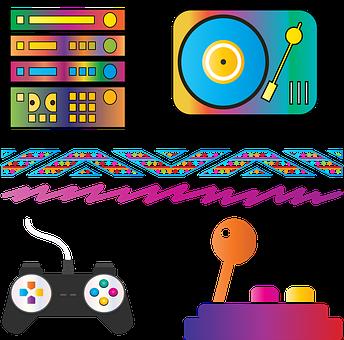 Eighties, Boombox, Retro, Music, Cassette, Technology