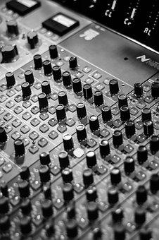 Mixing, Recording, Console, Music, Studio, Equipment