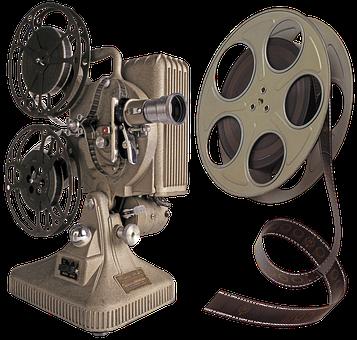 Projector, Film Stock, Cinema, The Movie, Color