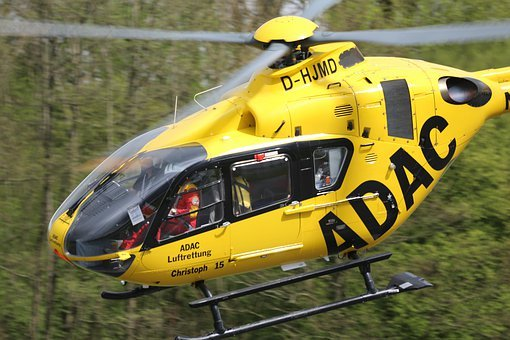 Adac, Heli, Helicopter, Aviation, Aircraft, Flying