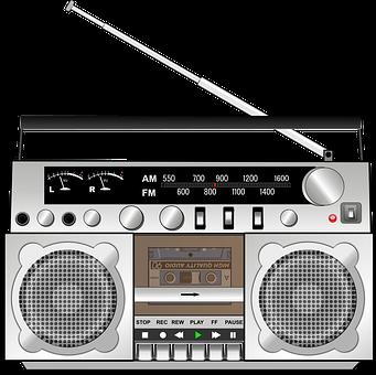Casette, Radio, Am, Fm, Antenna, Player, Speaker, Sound