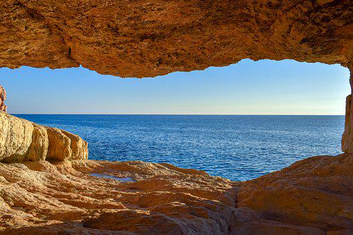 Cave, Sea, Nature, Window, Geology, Erosion, Formation
