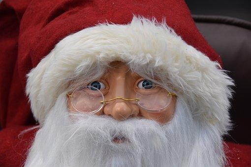 Father Christmas, Good Christmas Man, White Beard