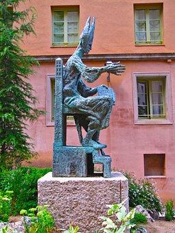Sculpture, The Abbot Of Olib, Graph, Monument, Art