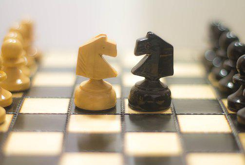Play Chess, Chess, Figures, Intelligence, Thinking