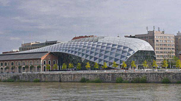 Wal, Budapest, Modern, Architecture, Cultural Center