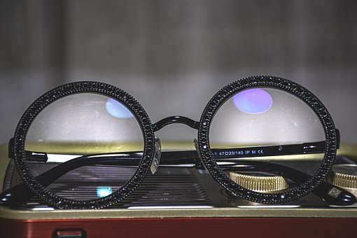Eyeglasses, Black, Lenses, Glass, Optical, Eyewear
