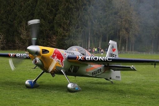 Red Bull, Flyer, Propeller, Aerobatics, Propeller Plane