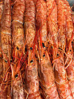Seafood, Shrimp, Gourmet, Restaurant, Prawn, Asian