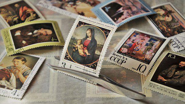 Philately, Madonna, Postage Stamps, Post, Send, Cccp