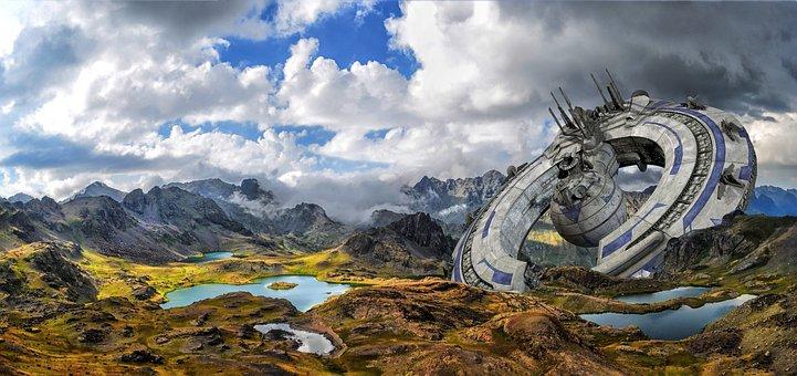 Nature, Spacecraft, Landscape, Kaçkars, Mountains