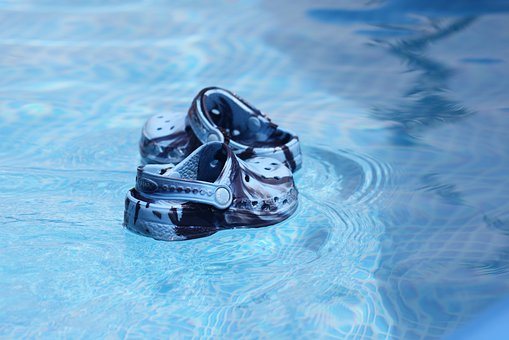 Water, Shoe, Sandal, Leisure, Active, Summer, Pool