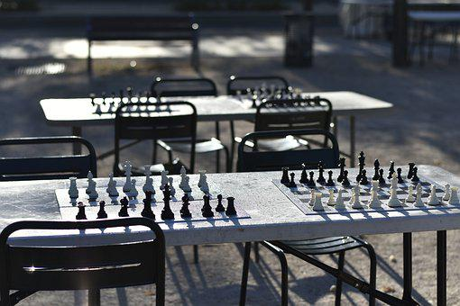 Chess Game, Chess, Table, King, Strategy, White, Black