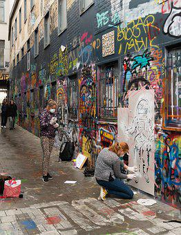 Werregarenstraat, Graffiti Alley, Graffiti, Urban