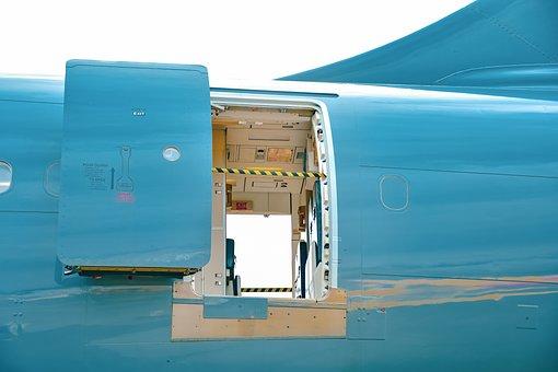 Fuselage Door, Airplane Door, Open Door, Aviation